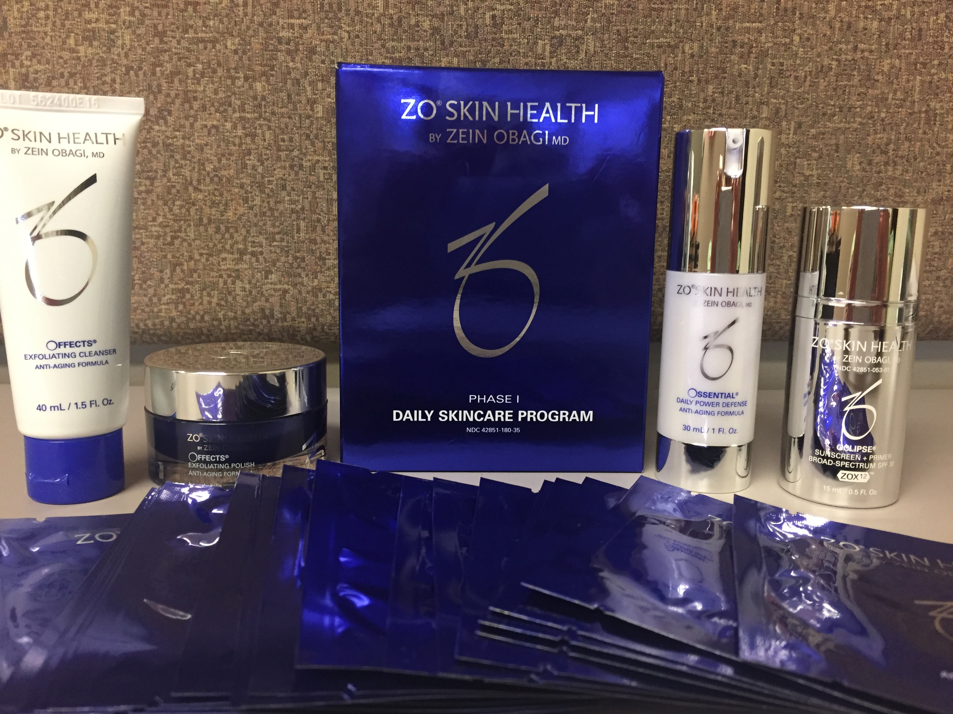 Zo Skin Health Daily Skincare Program Phase 1 Estimated Value 160 Strides 4 Sight